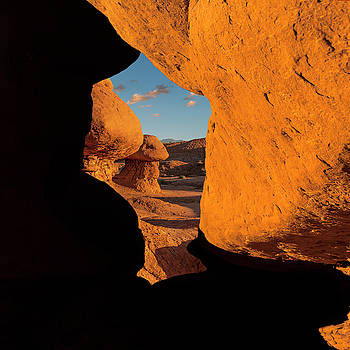 Goblin Valley  Look Through by Gary Warnimont