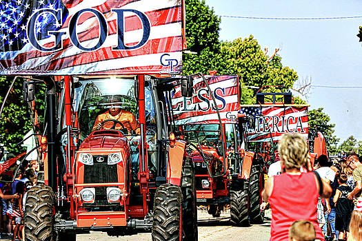 God Bless America and Farmers by Toni Hopper