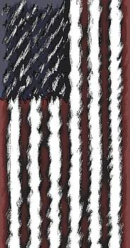 God Bless America Monet by Brad Walters
