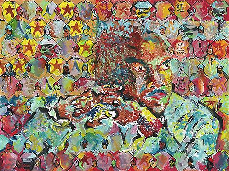 God Bless the Red, Black and Blue- Sombra de Arreguin by Doug Johnson