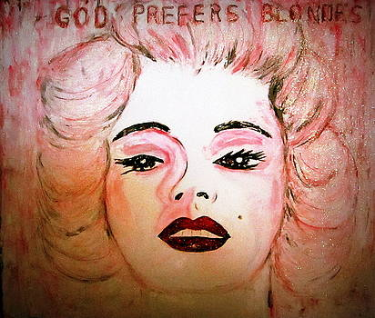 God Prefers Blondes by Teresa Moore