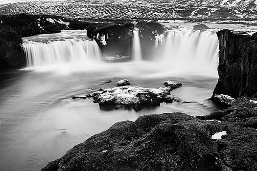 Godafoss Waterfall iceland by Pradeep Raja PRINTS