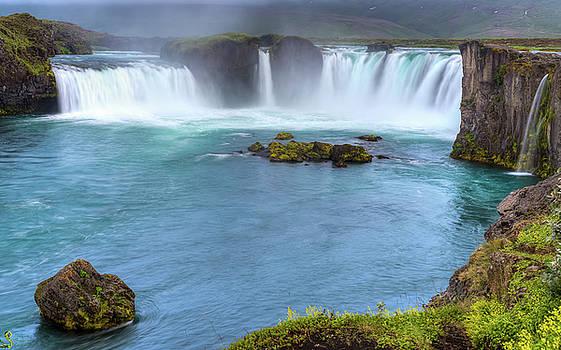 Godafoss - Waterfall of the Gods by Srikanth Srinivasan