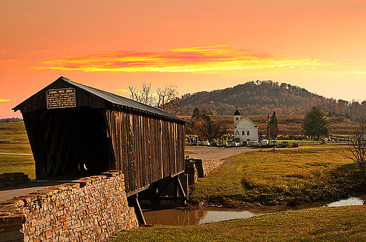 Randall Branham - Goddard White Bridge and Church