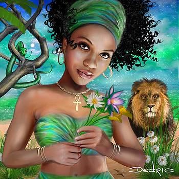Goddess Bastet by Dedric Art