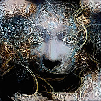 Goddess Face by Bruce Rolff