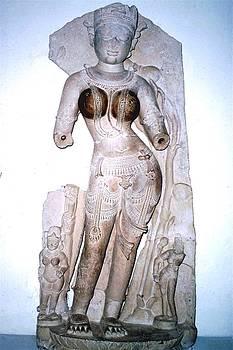 Goddess figure, India by Barron Holland