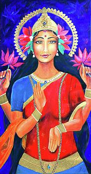 Goddess Lakshmi  by Lucinda Rae