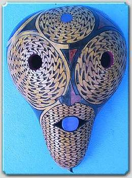 Goddess Mask by Patrick  Loafman