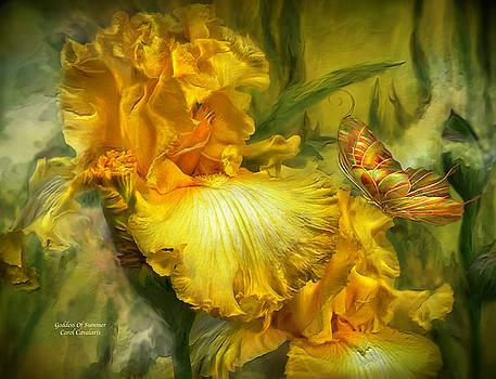 Goddess Of Summer by Carol Cavalaris