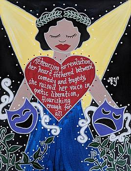 Goddess of the Arts by Angela Yarber