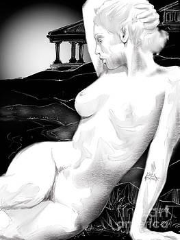 Goddess On The Mount by Mark Northcott