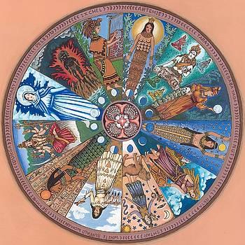 Goddess Wheel WBWoman by James Roderick