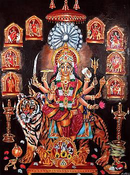 Godess Durga Devi by Sankaranarayanan