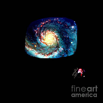 Godhood 2 - Whirlpool Galaxy by Richard W Linford