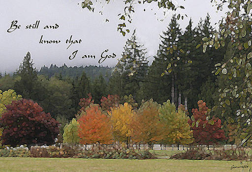 Gods Autumn Masterpiece by Mary Gaines
