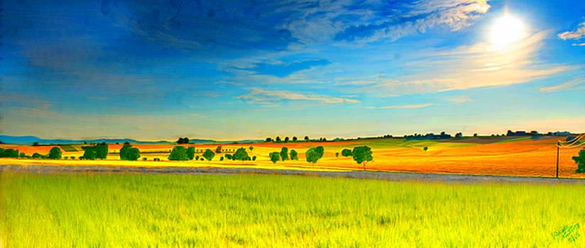 Gods Golden Glory by Bruce Nutting