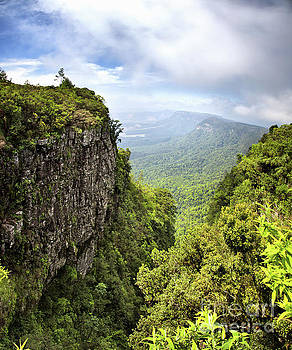 God's Window and the Blyde River Canyon by Jane Rix