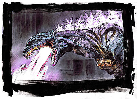 Godzilla Resurgance by Aug Kim