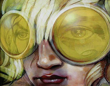 Goggle Girl by Adam Strange