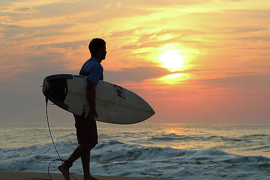 Goin Surfing by Robert Banach