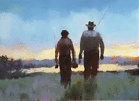 Going Fishing by Larry Christensen