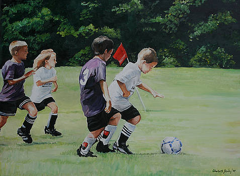 Going for the Goal by Charlotte Yealey