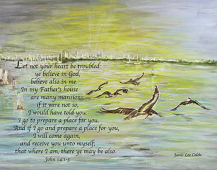 Going Home John 14 by Janis Lee Colon