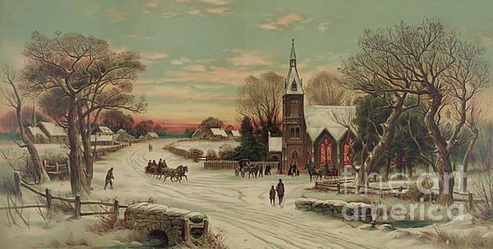 American School - Going to Church, Christmas Eve
