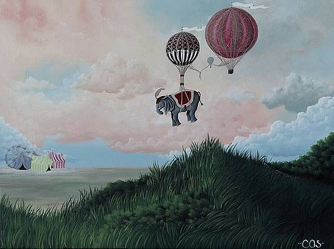 Going to the Circus by Camille Singer
