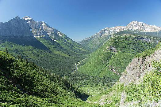 Going-to-the-sun Road Mountain Valley by Jason Kolenda