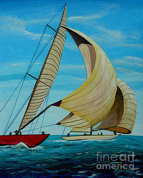 Going With The Wind by Anthony Dunphy