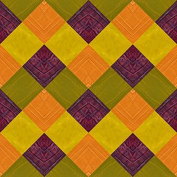 Michelle Calkins - Gold and Green with Orange 2.0