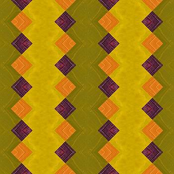 Michelle Calkins - Gold and Green with Orange