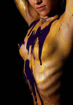 Gold and Purple by Daniel Love