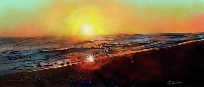 Gold Beach Oregon Sunset by Brian Gerritsen
