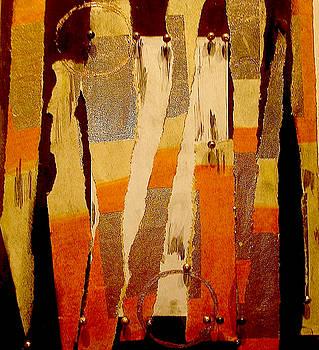 Gold black by Carol Massa