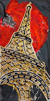 Gold Carpet In Paris by Sheila McPhee