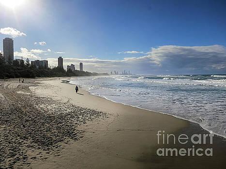 Gold Coast Beach 2 by Barbara Dudzinska
