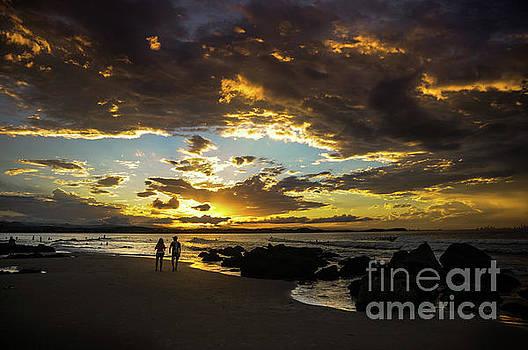 Gold Coast Sunset by Barbara Dudzinska