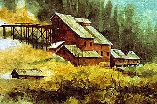 Gold Coin Mine Montana by Kevin Heaney