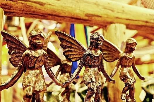 Gold Fairys by Brian Sereda