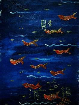 Rizwana Mundewadi - Gold Fishes of Wealth