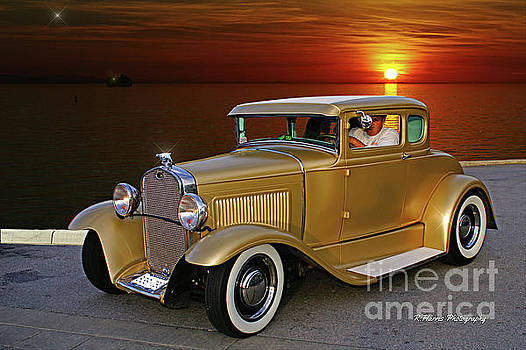 Gold Ford by Randy Harris