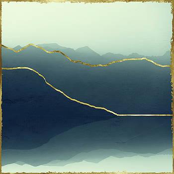 Gold Framed Alps by Dirk Wuestenhagen