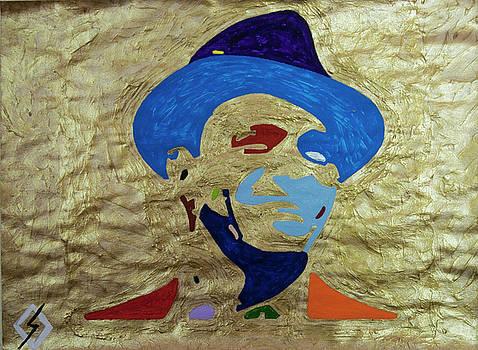 Smiling Gold Sinatra  by Stormm Bradshaw