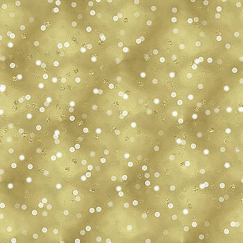 Gold Glam Confetti Dots by P S