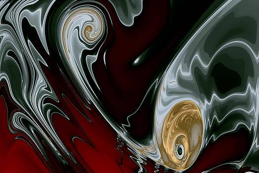 Gold in Turbulence No. 1 by Mark Eggleston