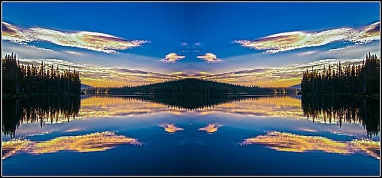 Gold Lake Sunrise 2 by Sherri Meyer