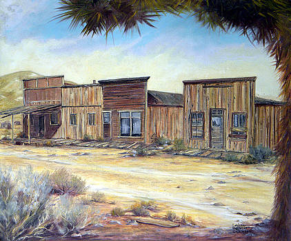 Gold Point Nevada by Evelyne Boynton Grierson